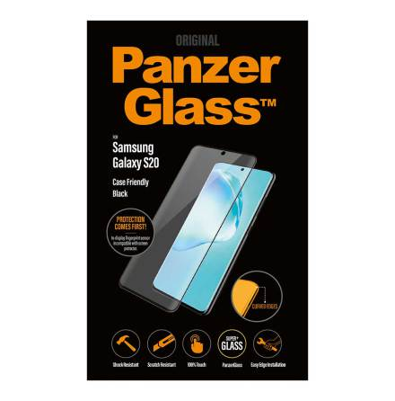 PanzerGlass skärmskydd i glas Galaxy S20