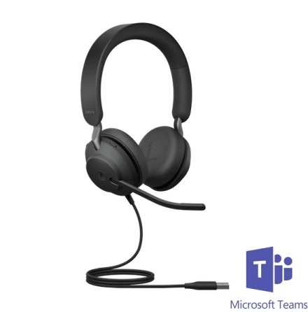 Jabra Evolve2 40 Stereo MS Teams USB-A