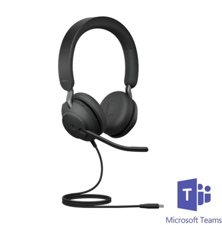 Jabra Evolve2 40 Stereo MS Teams USB-C