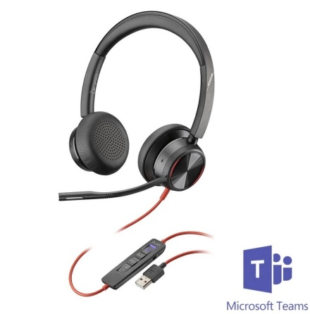 Plantronics BlackWire 8225 ANC USB-A MS Teams