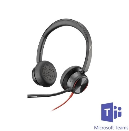 Plantronics BlackWire 8225 ANC USB-C MS Teams