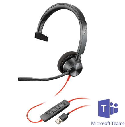 Plantronics BlackWire 3310 USB-A MS Teams