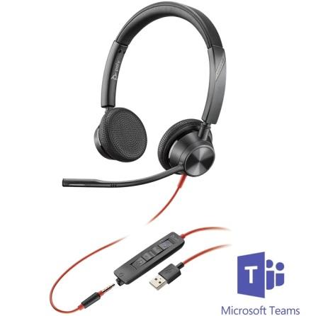 Plantronics BlackWire 3325 USB-A MS Teams