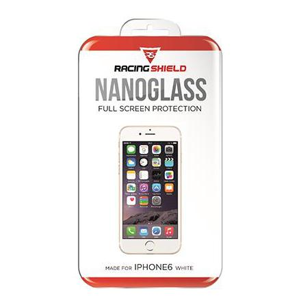 Racing Shield Nanoglass Full Screen iPhone 6/6S White