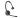 Plantronics WH300B (Endast Headset + Laddhållare)