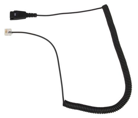 Jabra kabel spiral RJ45 (Aastra 7434)