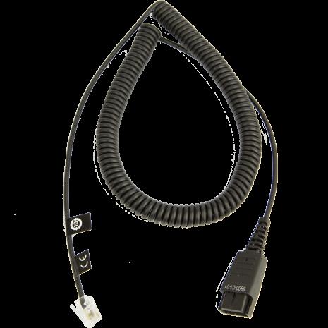 Jabra kabel spiral 2 meter standard