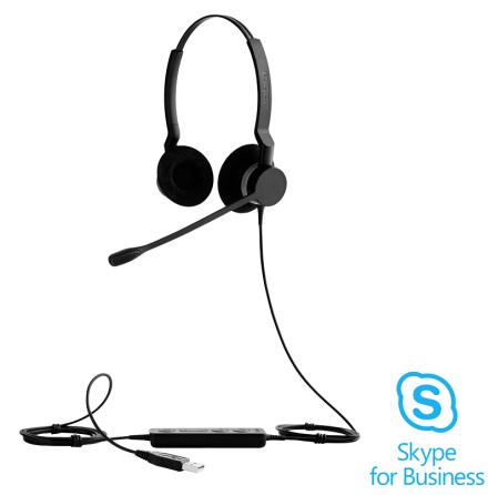 Jabra BIZ 2300 Duo USB Skype