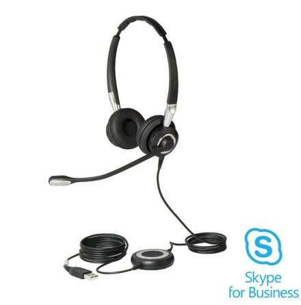 Jabra BIZ 2400 II Duo USB Skype