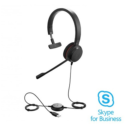 Jabra Evolve 20 Mono Skype