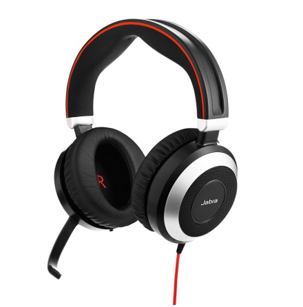 Jabra Evolve 80 Stereo med 3,5mm