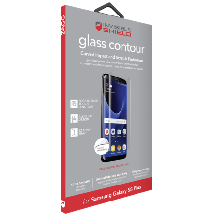 Invisible Shield Glass Contour Galaxy S8+