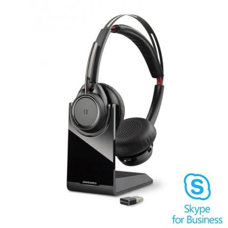 Plantronics Voyager Focus med laddbas Skype