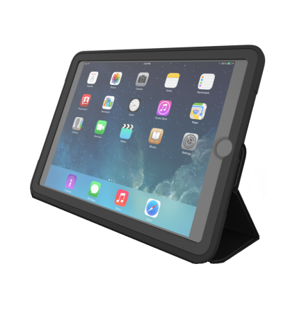 "iPad 2018 skal 9,7"" Zagg Rugged Messenger Case"
