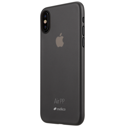 Melkco Air PP skal iPhone X/XS Transparant svart