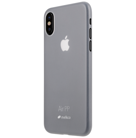 Melkco Air PP skal iPhone X/XS Transparant vit