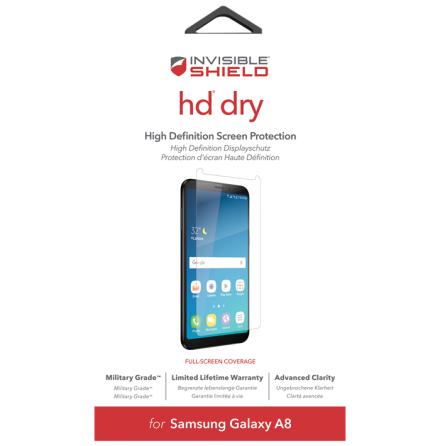 Invisible Shield HD Dry Screen Galaxy A8 2018
