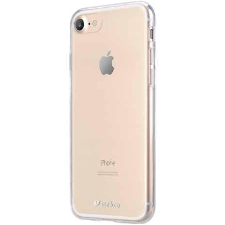 Melkco Skal iPhone 7/8/SE Transparant