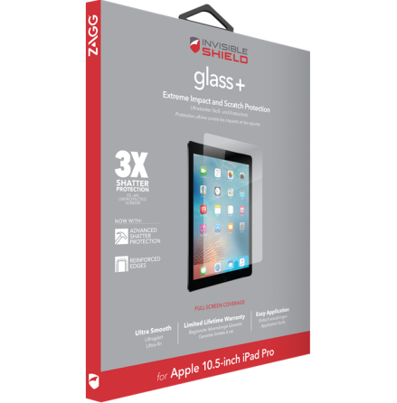 "Invisible Shield Glass+ iPad Air 2019/Pro 10,5"""
