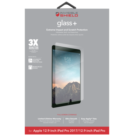 """Invisible Shield Glass+ iPad Pro 12.9"""" 2017"""