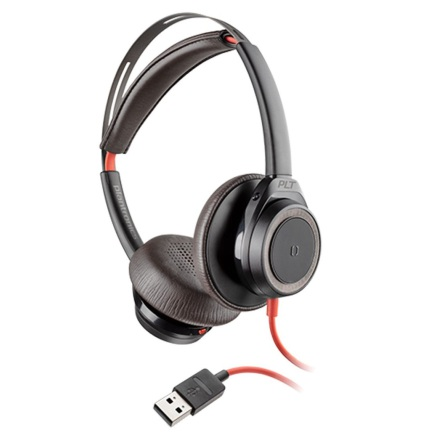 Plantronics BlackWire 7225 USB-A Black