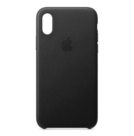 Apple Original Case Leather iPhone X/XS Black