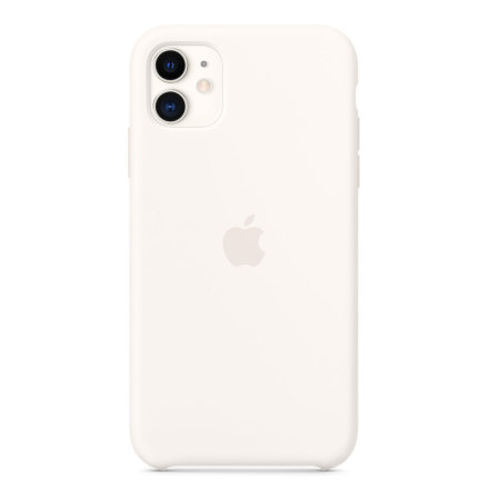 Apple Original Case Silicone iPhone 11/XR White